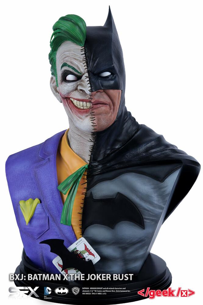 Silver Fox Collectibles - Dc Batman X Joker Bxj Bust (Clcb) (Stat)