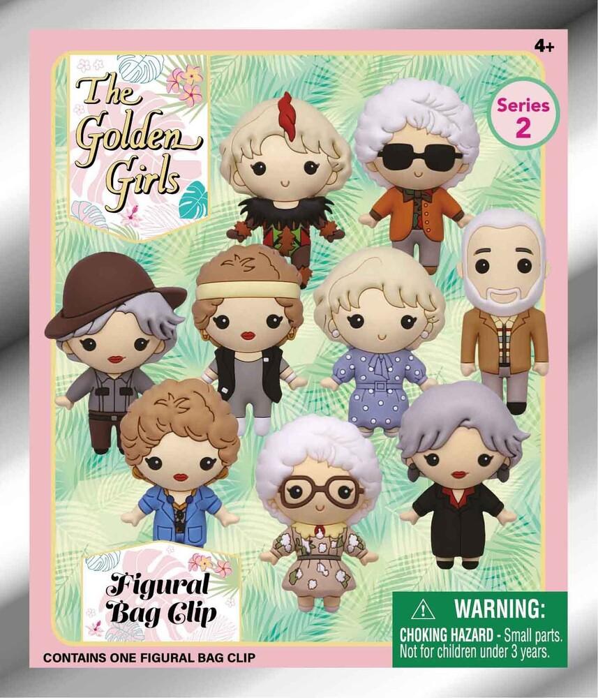 Golden Girls 3D Foam Bag Clip - Series 2 - Golden Girls 3d Foam Bag Clip - Series 2 (Key)