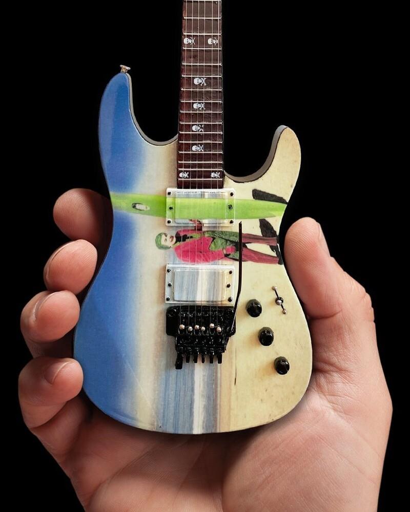 Kirk Hammett Metallica Joker Surfs Up Mini Guitar - Kirk Hammett Metallica Joker Surfs Up Mini Guitar