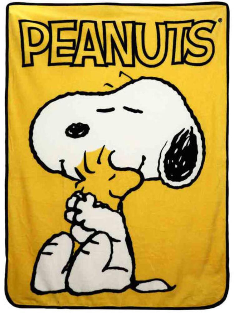 Peanuts Snoopy Digital Fleece Throw - Peanuts Snoopy Digital Fleece Throw (Blan) (Mult)
