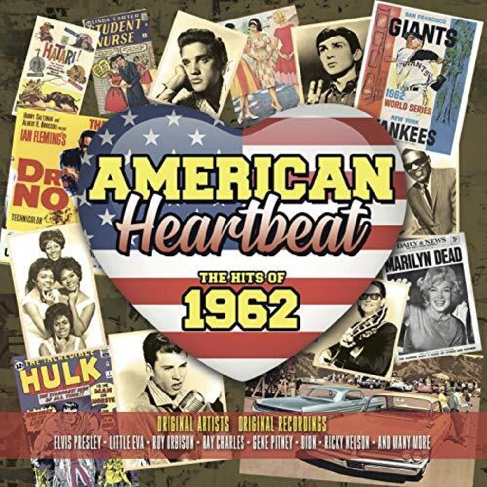 American Heartbeat Hits Of 1962 / Various - American Heartbeat: Hits Of 1962 / Various