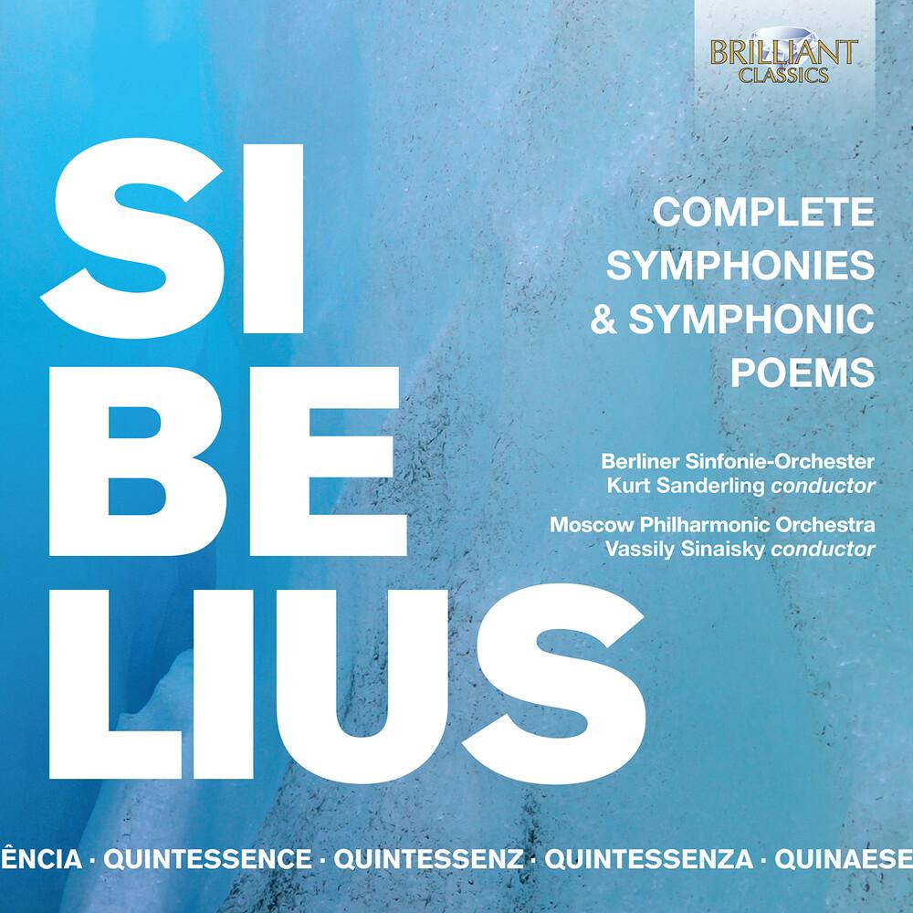 Sibelius / Berliner Sinfonie0orchester / Sinaisky - Symphonies & Symphonic Poems