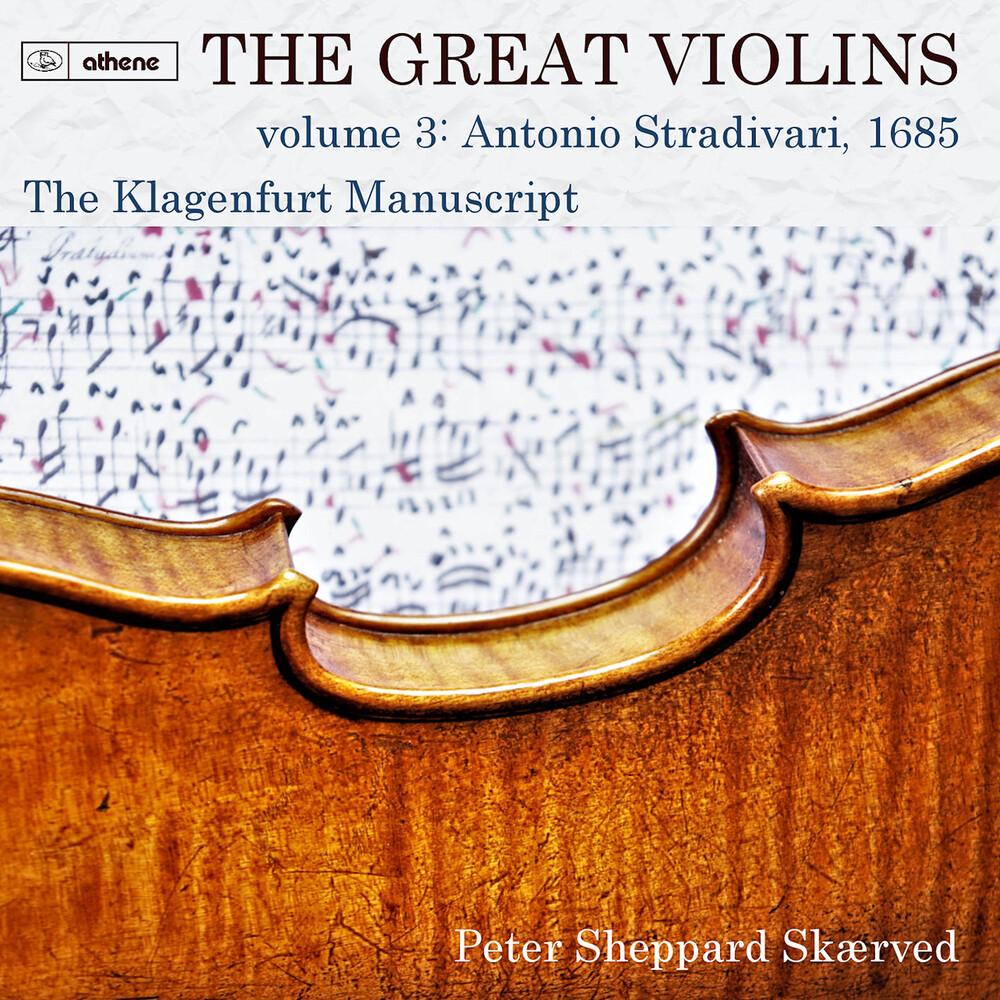 Peter Sheppard Skærved - Great Violins 3 (2pk)