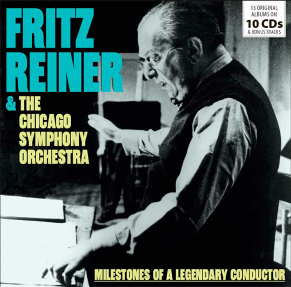 FRITZ REINER - & The Chicago Symphony Orchestra Pack