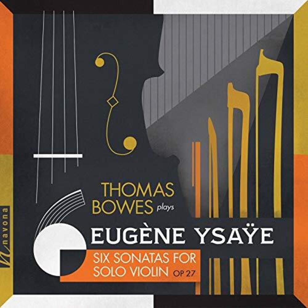 Thomas Bowes - 6 Sonatas For Solo Violin