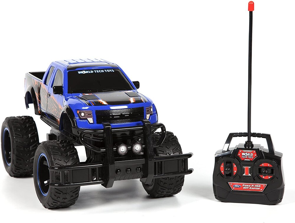 Rc Vehicles - 1:14 Ford F-150 SVT Raptor RC Truck (One random color per transaction. Colors green, blue or red.)