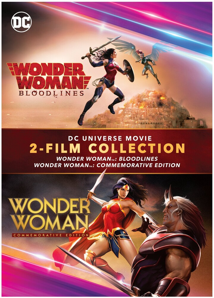 - Wonder Woman: Commemorative/Bloodlines / (Ecoa)