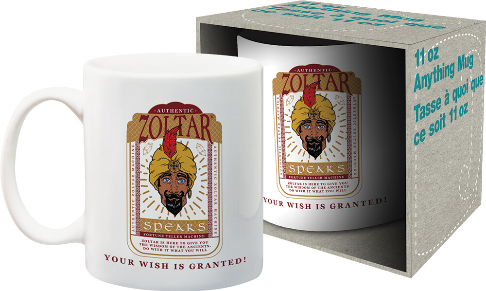 Zoltar Your Wish Is Granted 11Oz Mug Boxed - Zoltar Your Wish Is Granted 11oz Mug Boxed