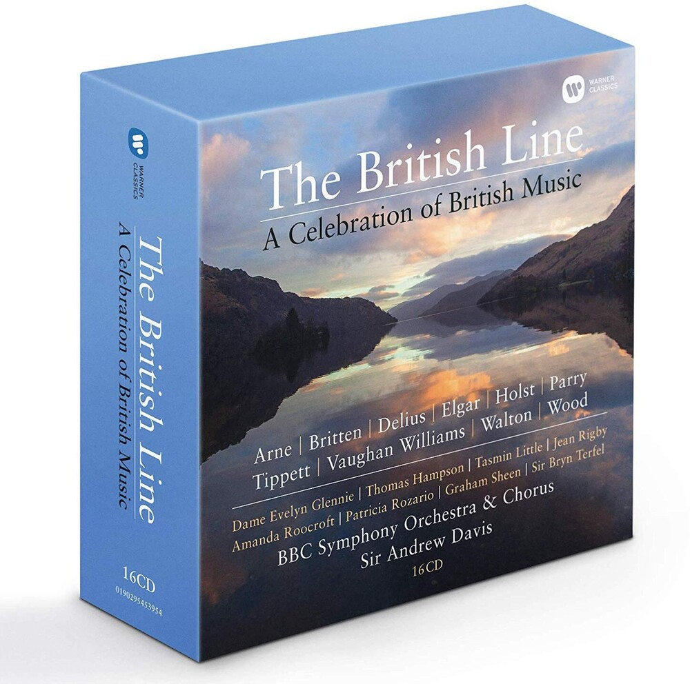 Dame Glennie / Hampson,Thomas / Rigby,Jean - British Line: A Celebration Of British Music Arne