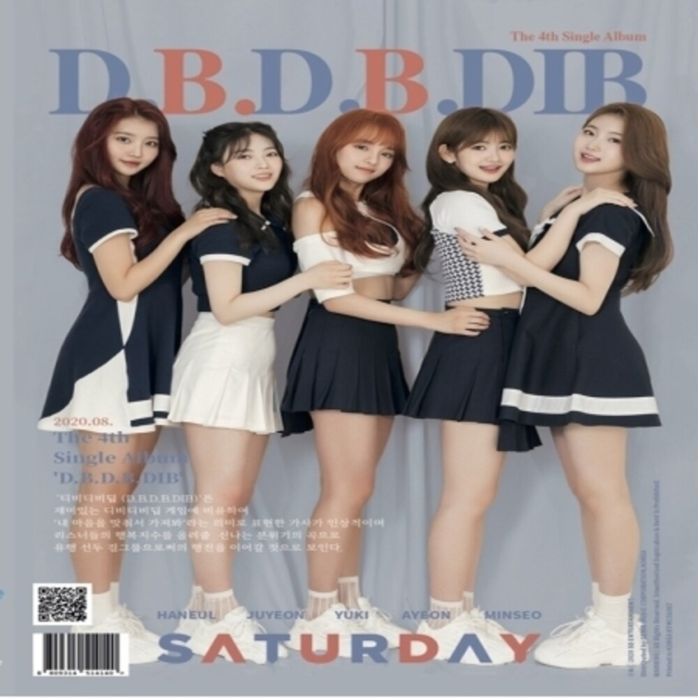 Saturday - [D.B.D.B.Dib] (incl. Booklet, Sunday Zone, 2pc Photocard + Puzzle Photo Card)