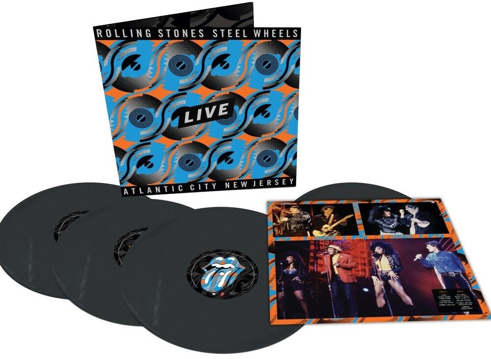 The Rolling Stones - Steel Wheels Live: Live From Atlantic City, NJ, 1989 [Import 4LP]