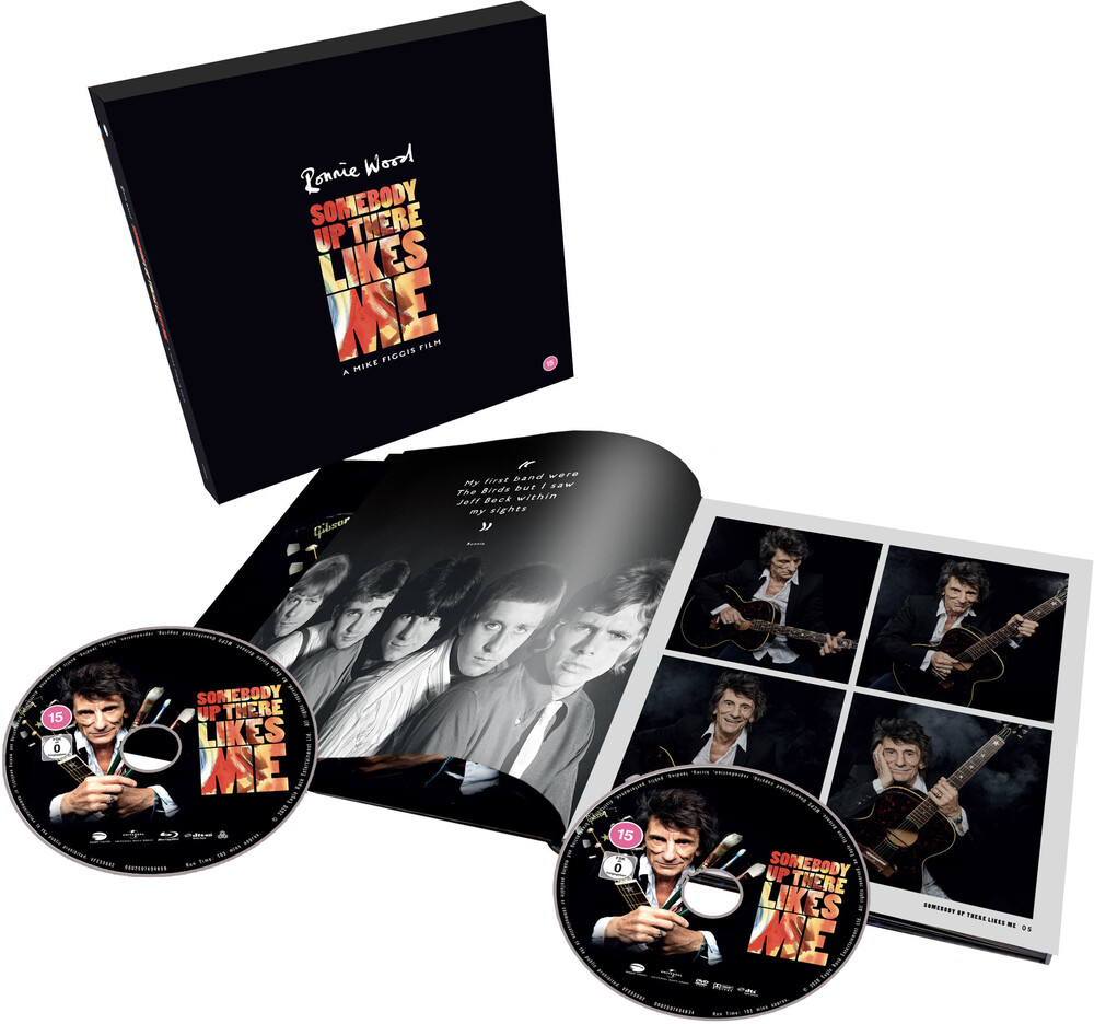 Ronnie Wood - Ronnie Wood: Somebody up There Likes Me [Limited Edition Deluxe Blu-ray/DVD]