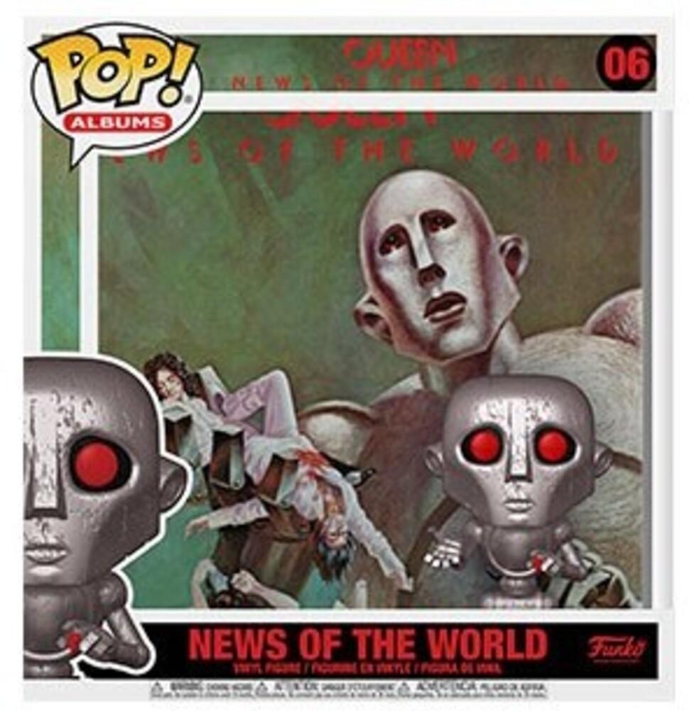 Funko Pop! Albums: - FUNKO POP! ALBUMS: Queen - News of the World (MT)