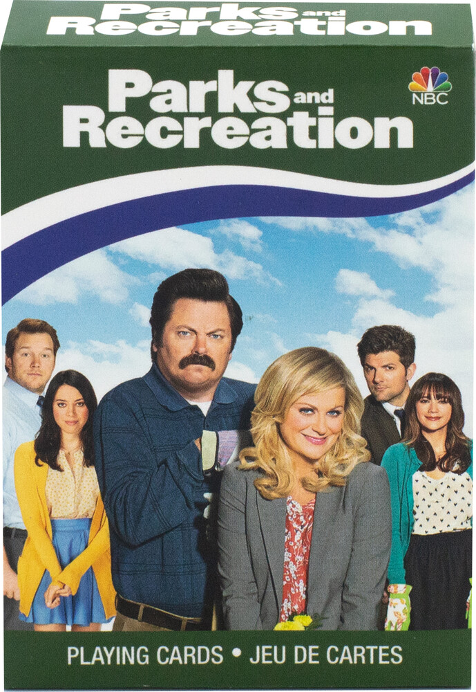 Parks & Recreation Playing Cards Deck - Parks & Recreation Playing Cards Deck