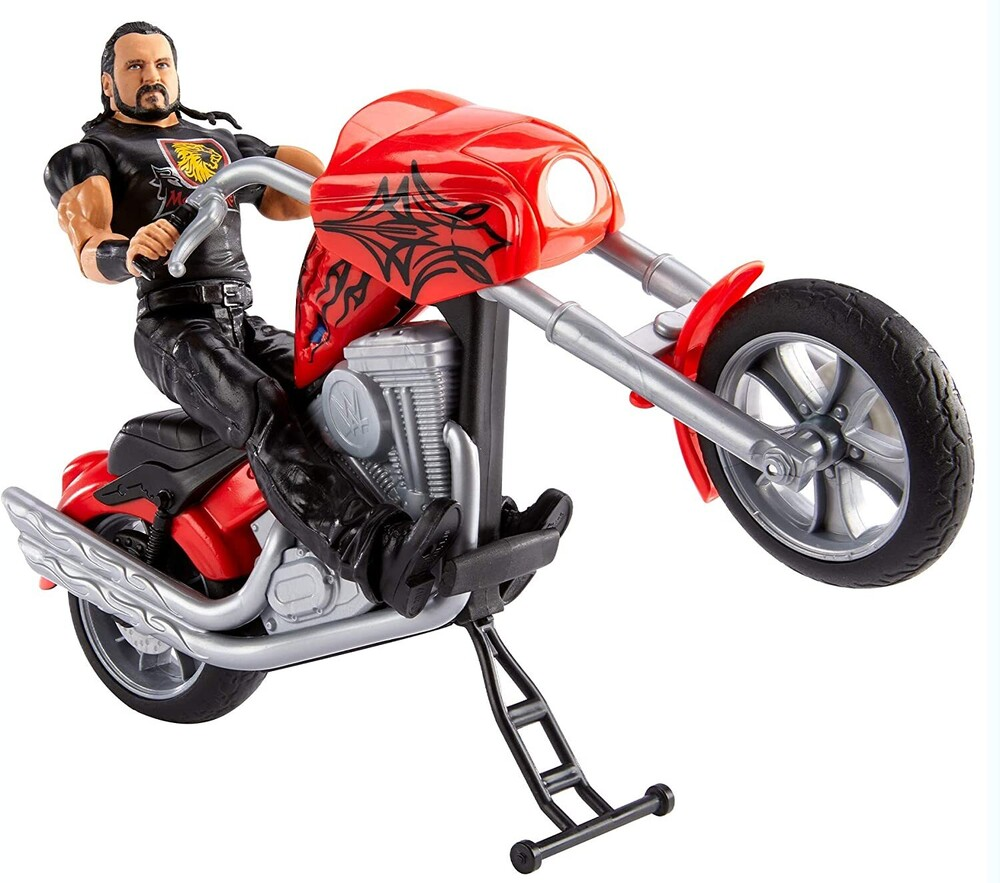 WWE - Mattel Collectible - WWE Wrekkin' Slamcycle Drew McIntyre Playset