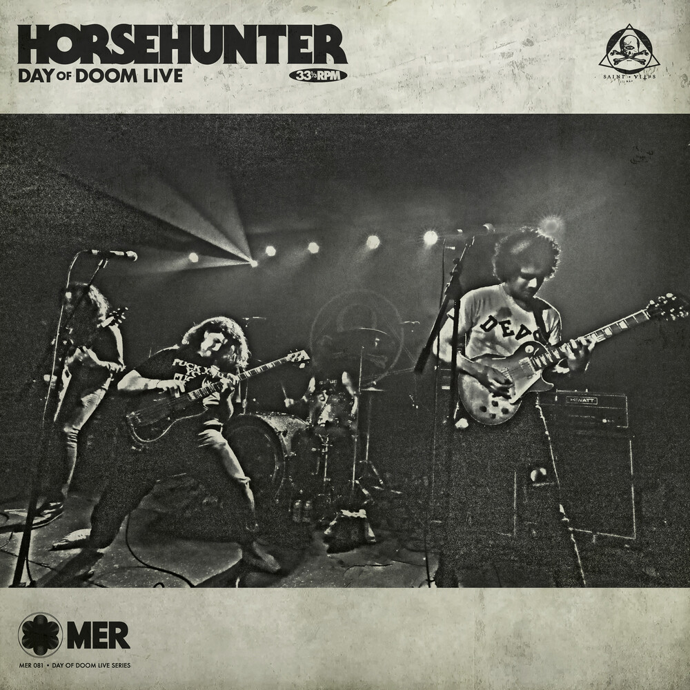 Horsehunter - Day Of Doom Live [Digipak]