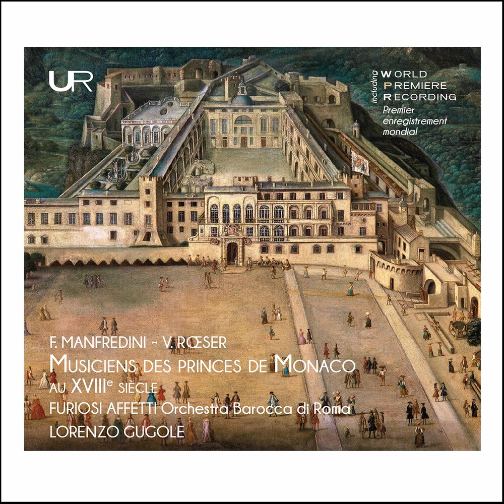 Manfredini / Affetti / Orchestra Barocca Di Roma - Musiciens Des Princes de Monac