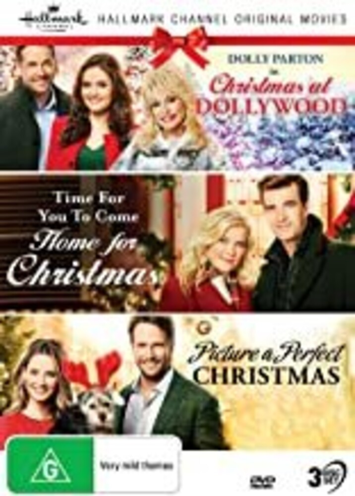 Hallmark Xmas 11: Xmas at / Time for You / Picture - Hallmark Xmas 11: Christmas At Dollywood / Time For You To Come Home For Christmas / Picture A Perfect Christmas [NTSC/0]