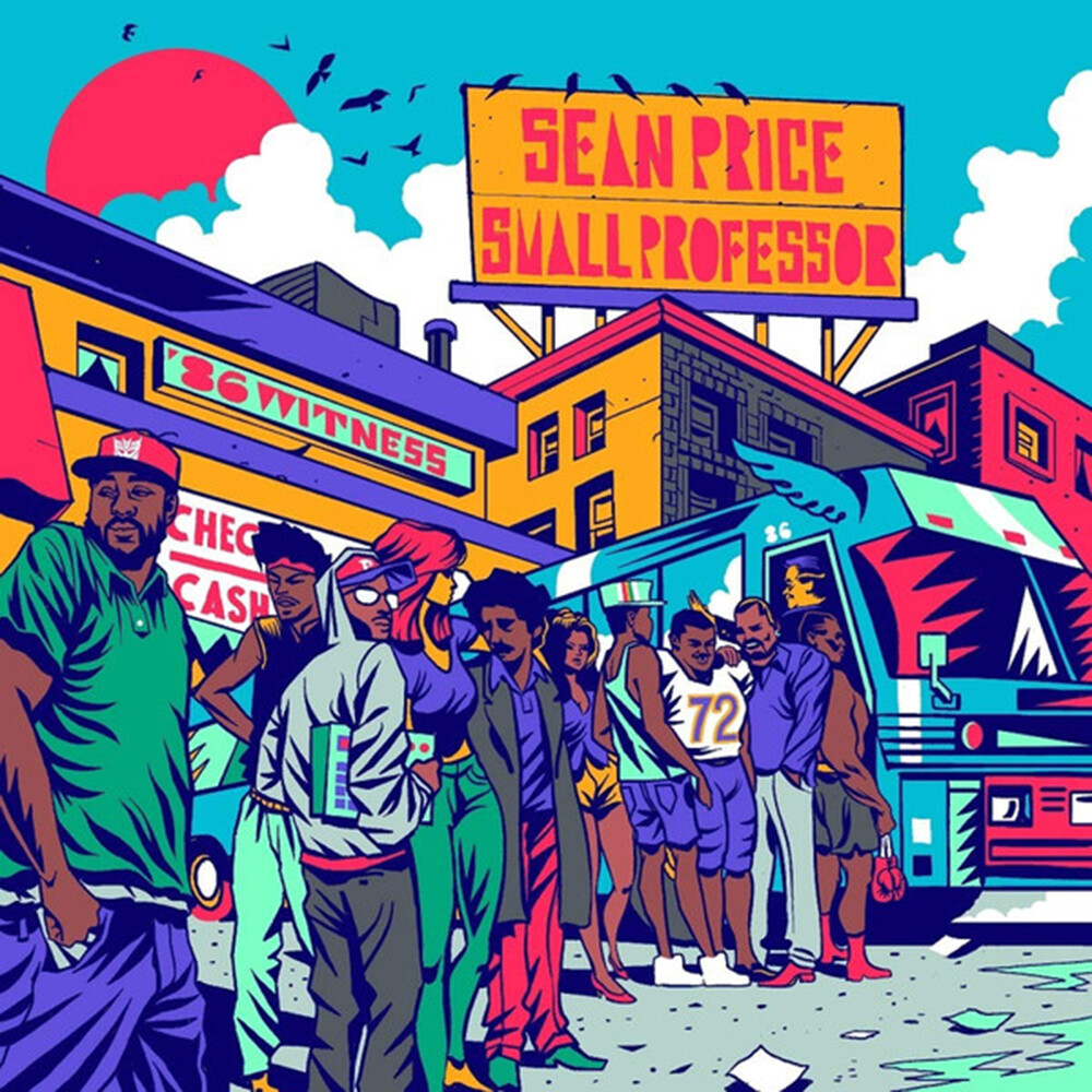 Sean Price / Small Professor - 86 Witness ('nathan's Famous' Cassette)