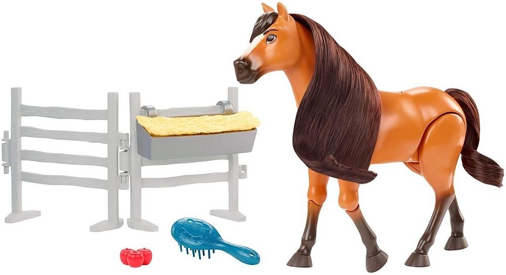 - Mattel - Spirit Feature Horse
