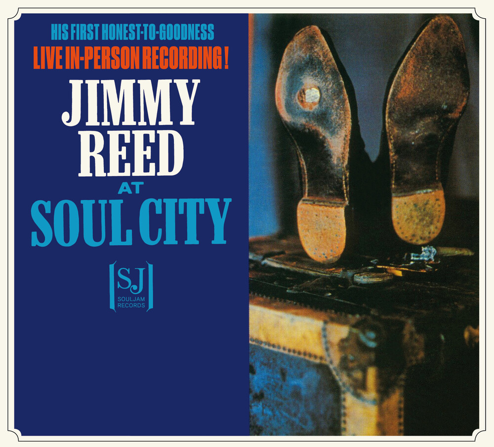 Jimmy Reed - Jimmy Reed At Soul City / Sings The Best Of The Blues [Limited Digipak]