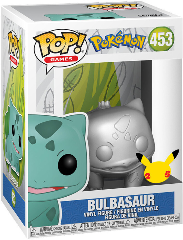 - FUNKO POP! GAMES: Pokemon - Bulbasaur (SV/MT)