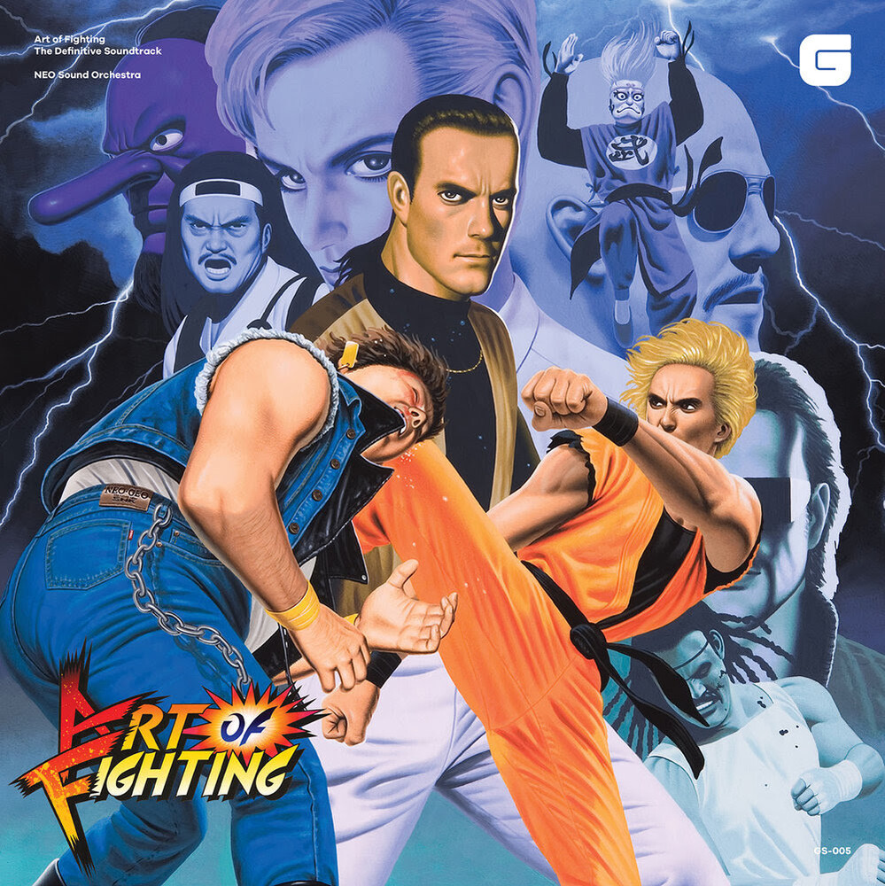Neo Sound Orchestra Blue - Art Of Fighting - Definitive Soundtrack / O.S.T.