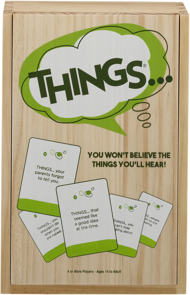 Things You Wont Believe the Things Youll Hear - Things You Won't Believe The Things You'll Hear Deluxe Wood Box