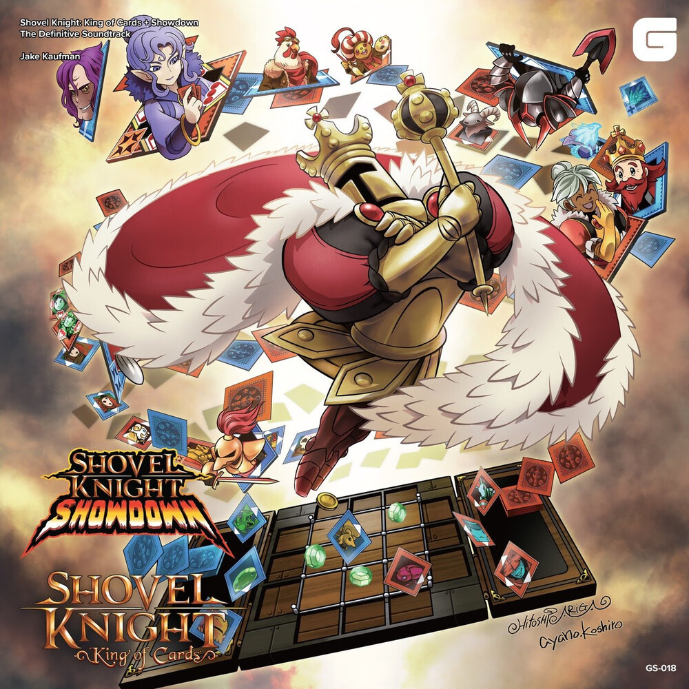 Jake Kaufman  (Colv) - Shovel Knight: King of Cards + Showdown - The Definitive Soundtrack (Multicolor Vinyl)