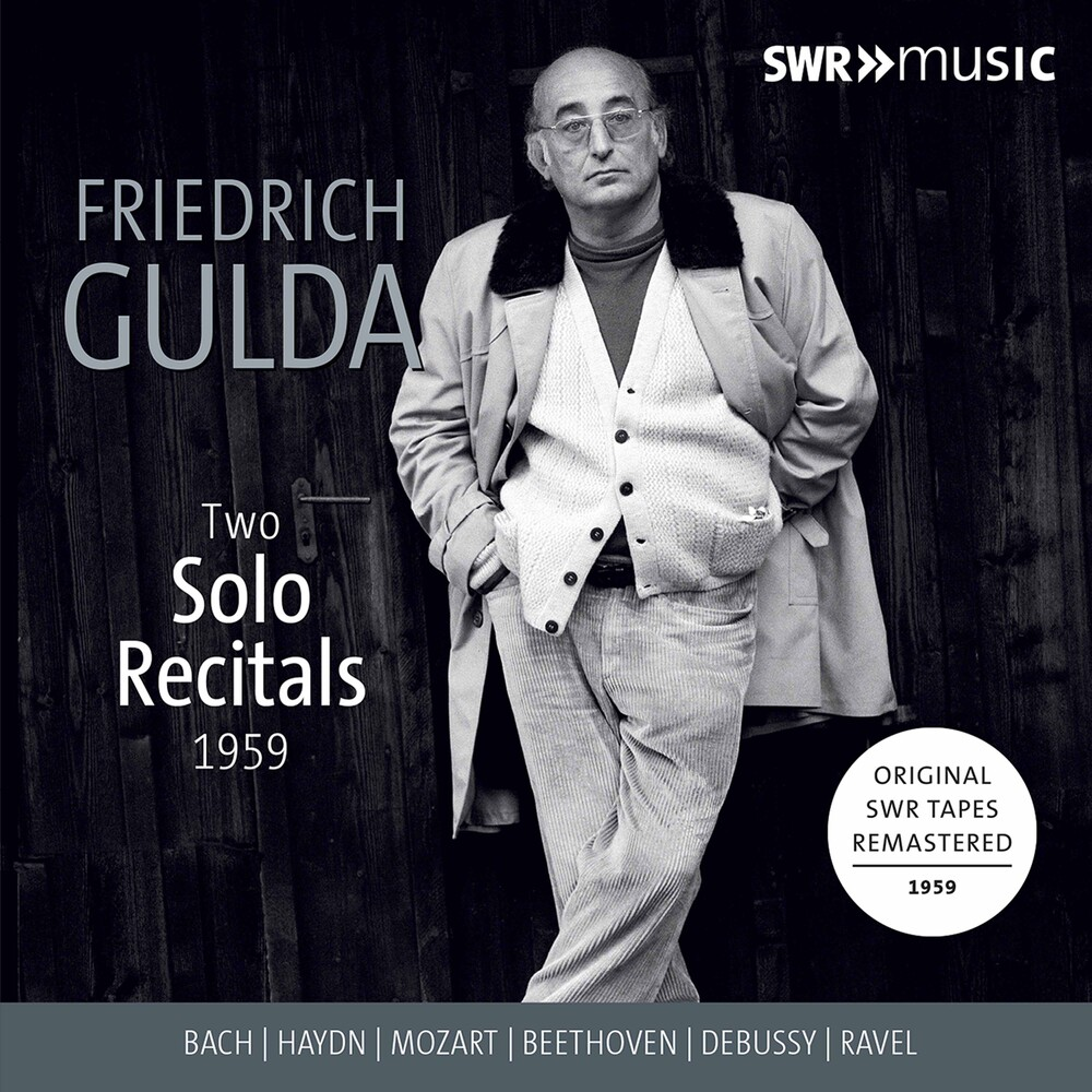 FRIEDRICH GULDA - Two Solo Recitals 1959