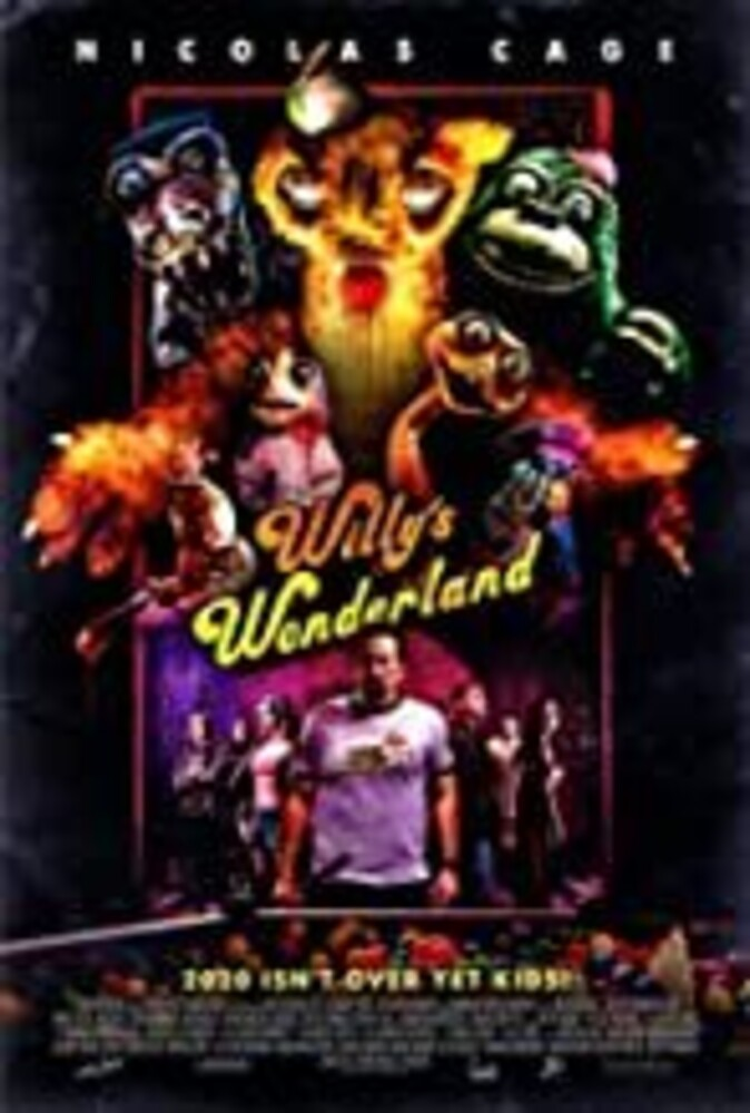 Willy's Wonderland DVD - Willy's Wonderland