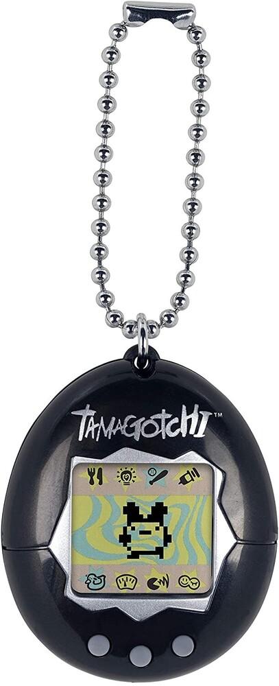 Tamagotchi - Bandai America - Original Tamagotchi, Black with Silver