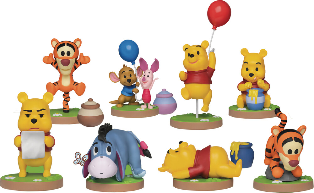 Beast Kingdom - Beast Kingdom - Disney Winnie The Pooh Series MEA-020 8 Piece FigureSet
