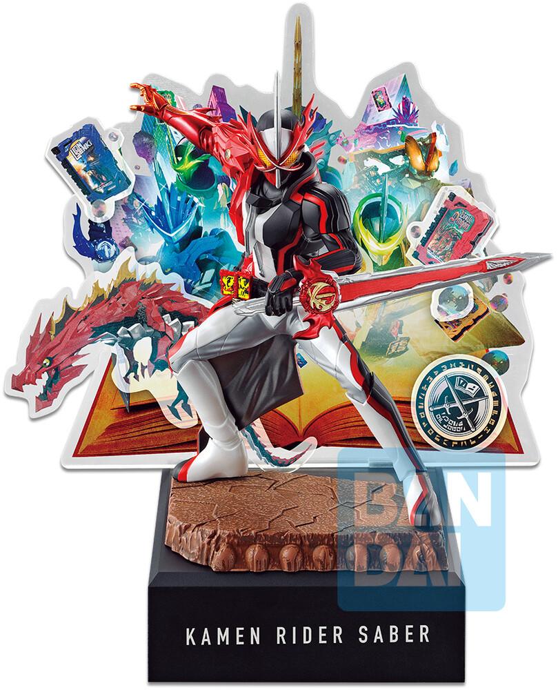 - Ichiban - Kamen Rider Saber (No.02 Feat.Legend Kamen Rider), BandaiIchibansho Figure
