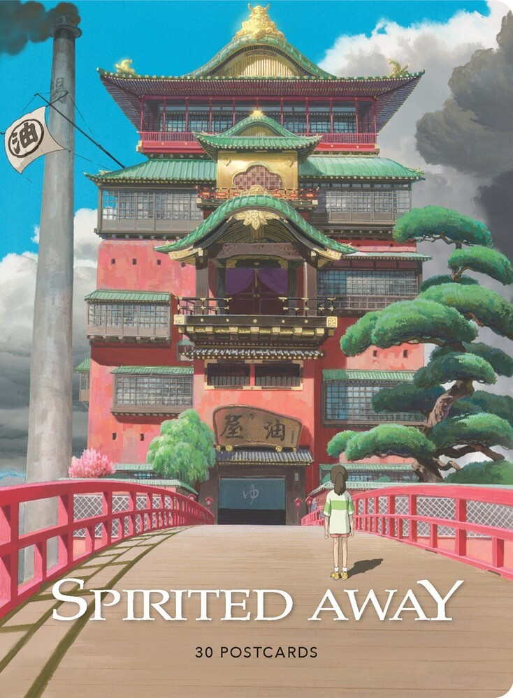 - Spirited Away: 30 Postcards (Studio Ghibli)