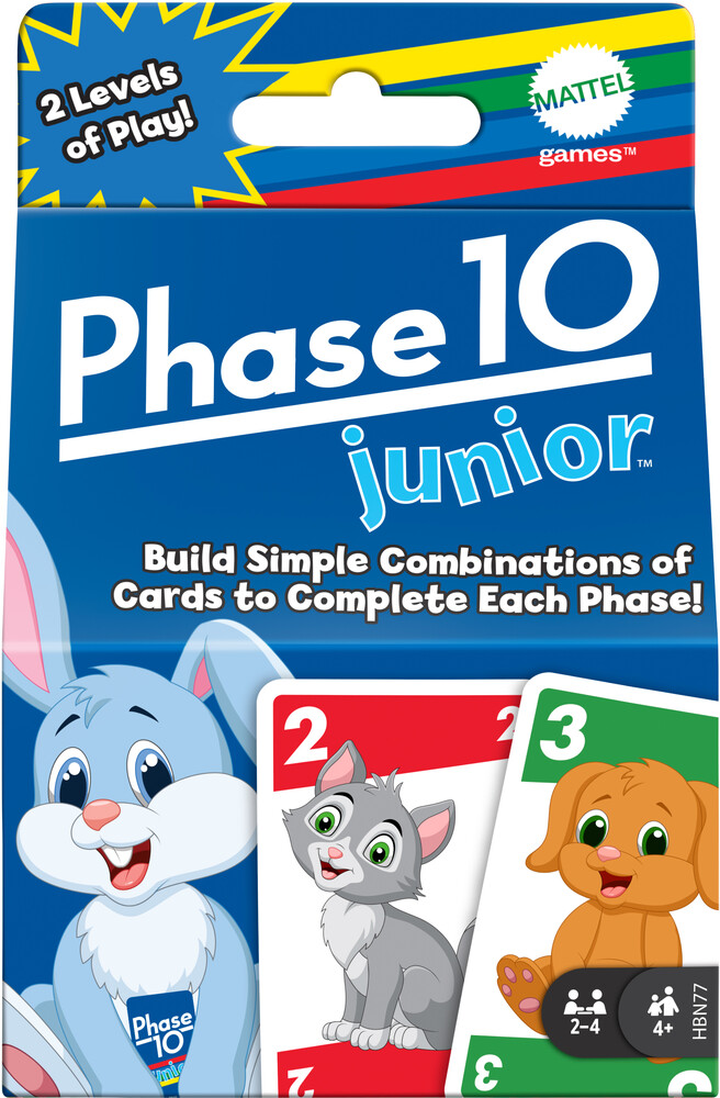 - Mattel Games - Phase 10 Jr