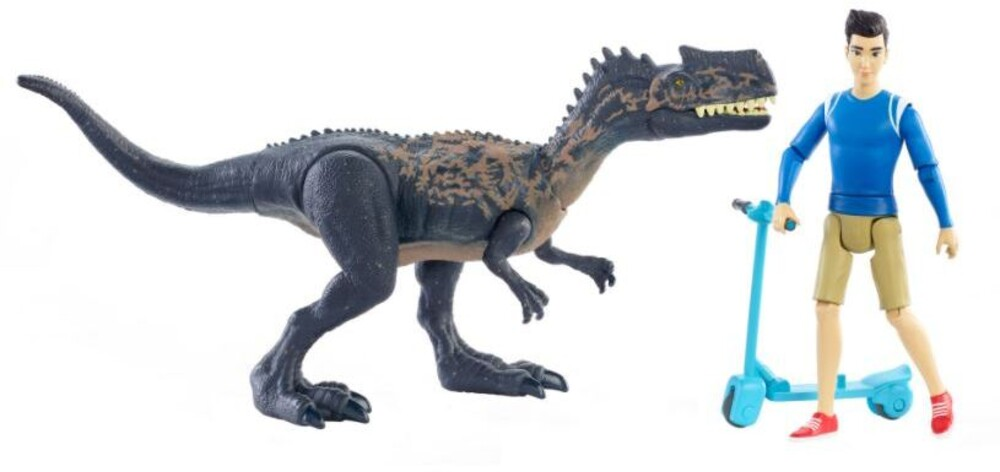Jurassic World - Mattel - Jurassic World Kenji, Monolophosaurus & Segway