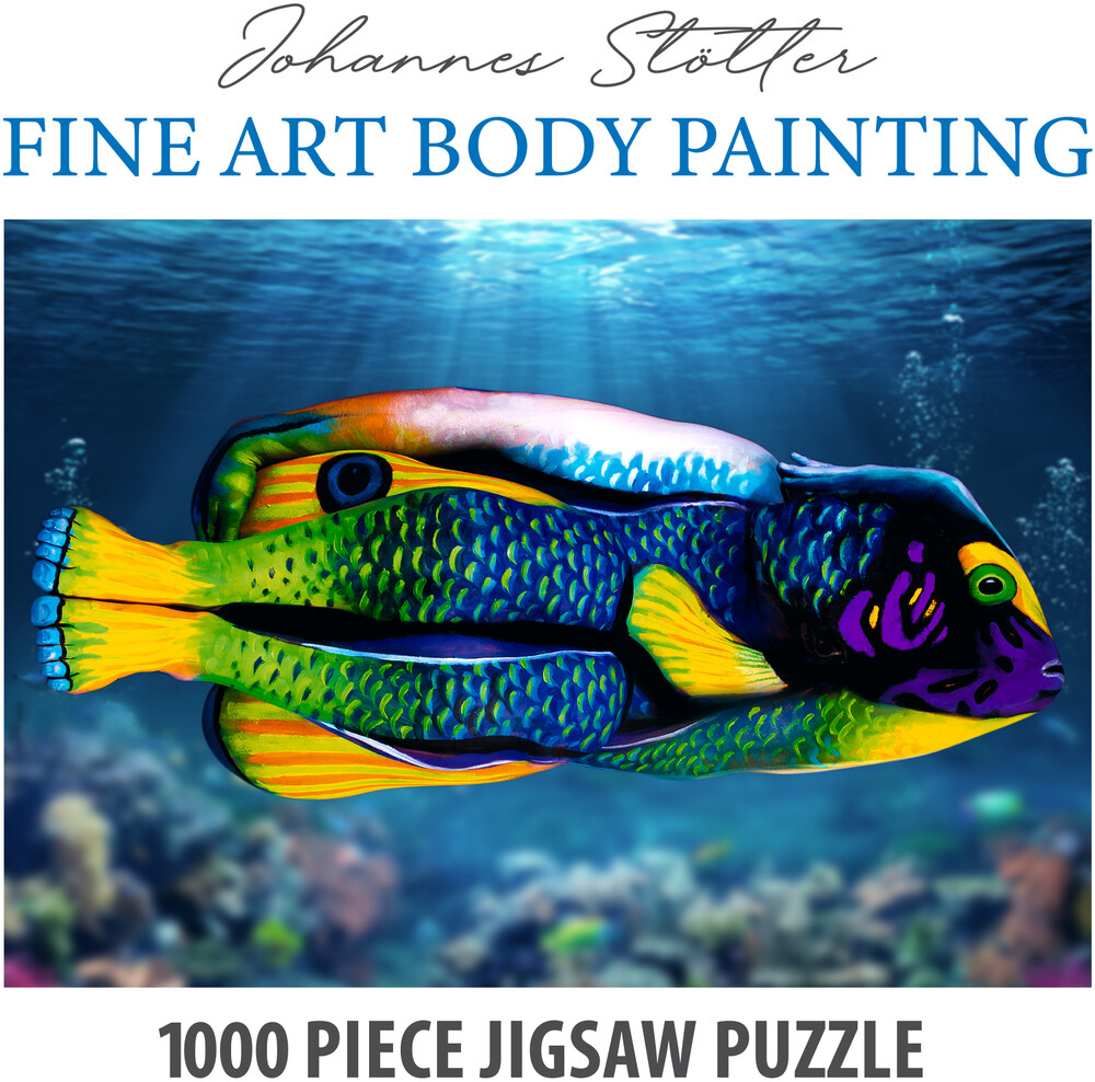 - Funwares Johannes Stotter Angel Fish Body Art Puz