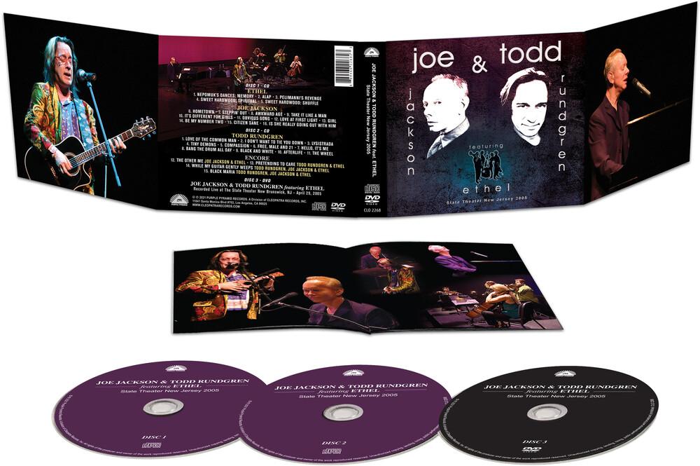 Joe Jackson  / Rundgren,Todd - State Theater New Jersey 2005 (W/Dvd)
