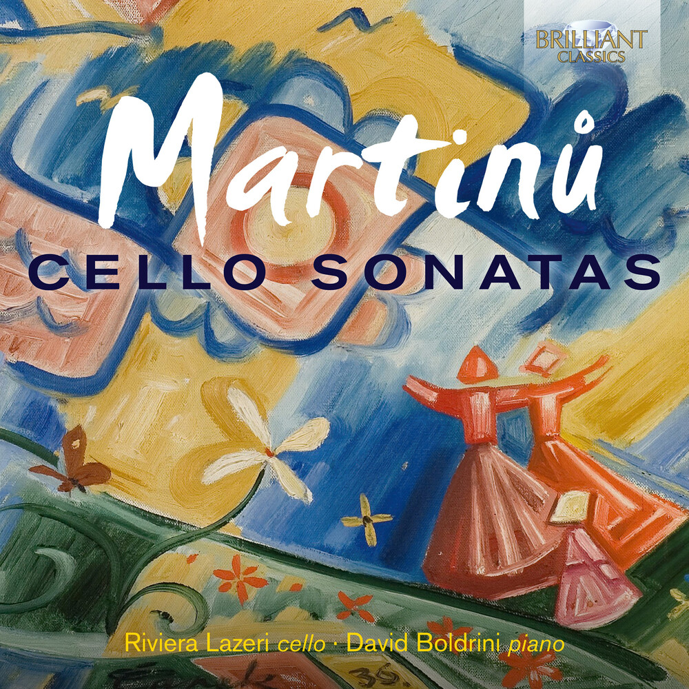 Martinu / Boldrini / Lazeri - Cello Sonatas