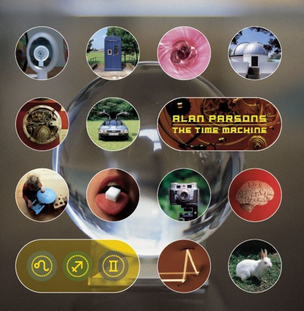 Alan Parsons - Time Machine (Hol)