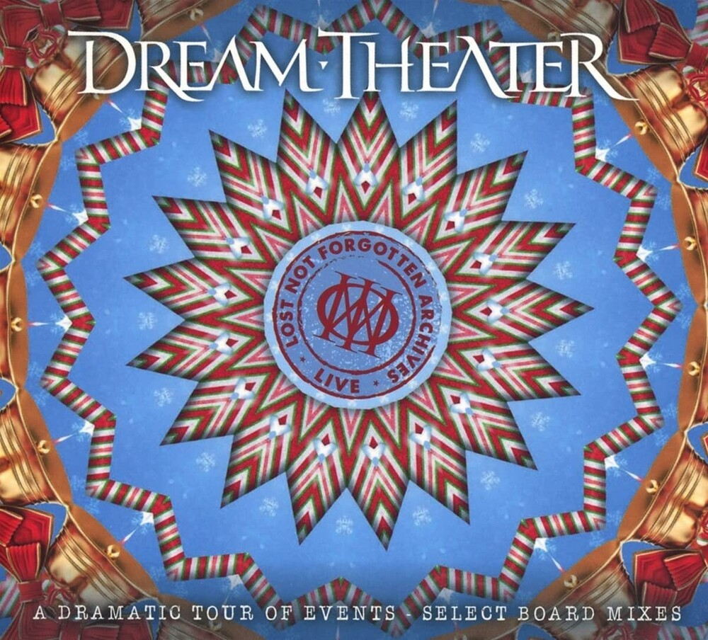 Dream Theater - Lost Not Forgotten Archives: A Dramatic Tour Of Events [Import Gatefold Transp. Coke Bottle 3LP/2CD]