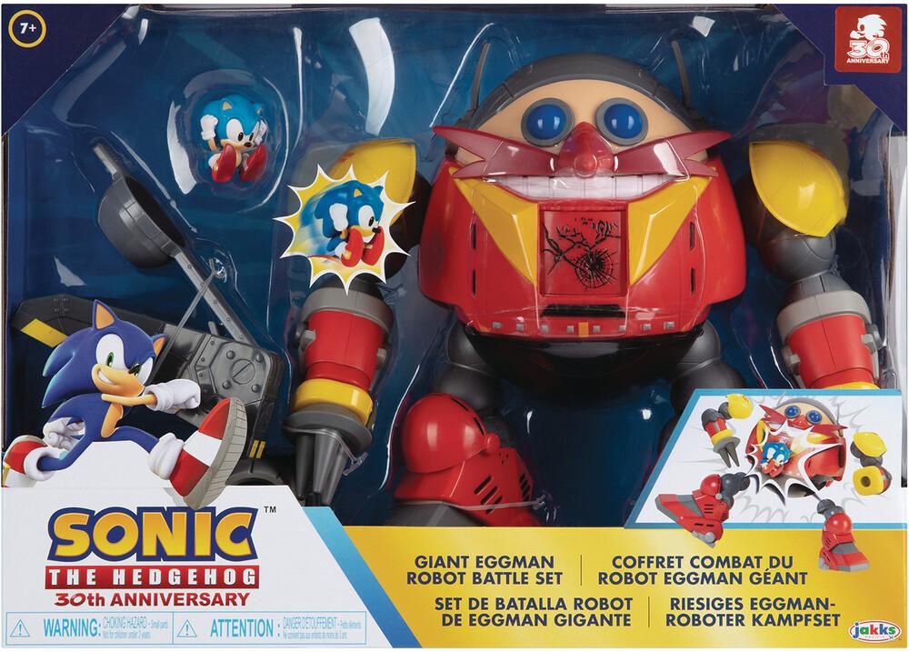 - Sonic The Hedgehog Giant Eggman Robot Battle Set C