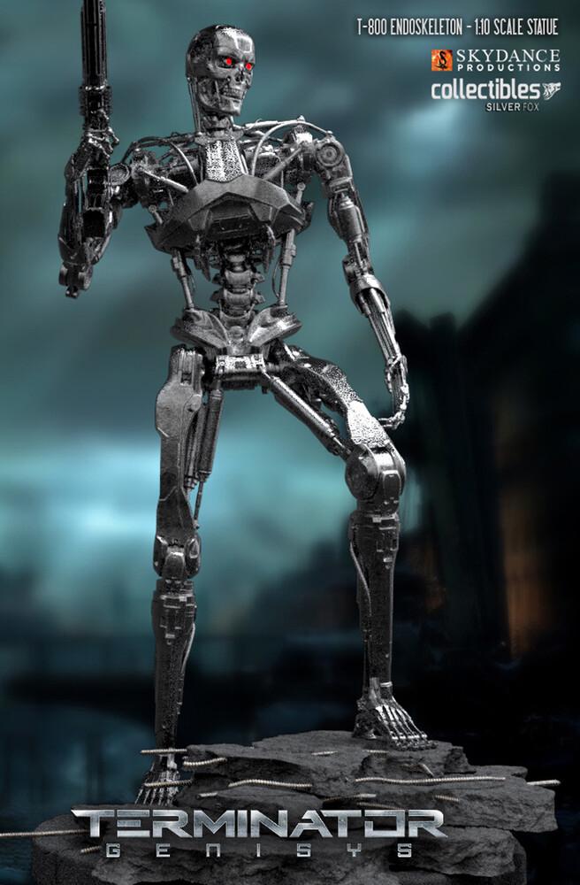Silver Fox Collectibles - Terminator: Genesis - T800 Terminator 1/10 Scale