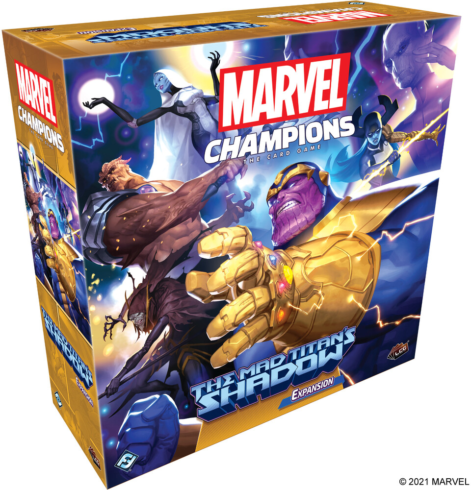 Marvel Champions Card Game Mad Titan's Shadow Exp - Marvel Champions Card Game Mad Titan's Shadow Exp