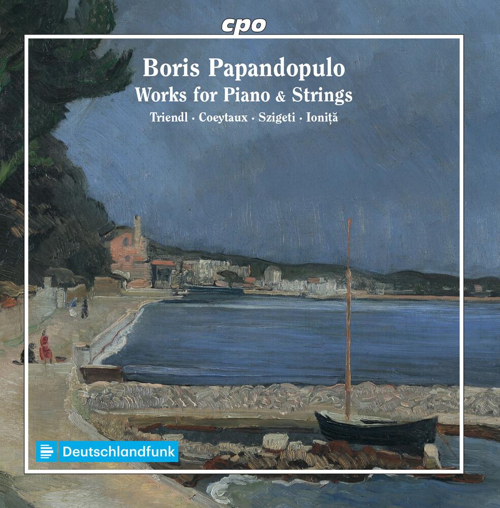 Papandopulo / Triendl / Ionita - Works For Piano & Strings