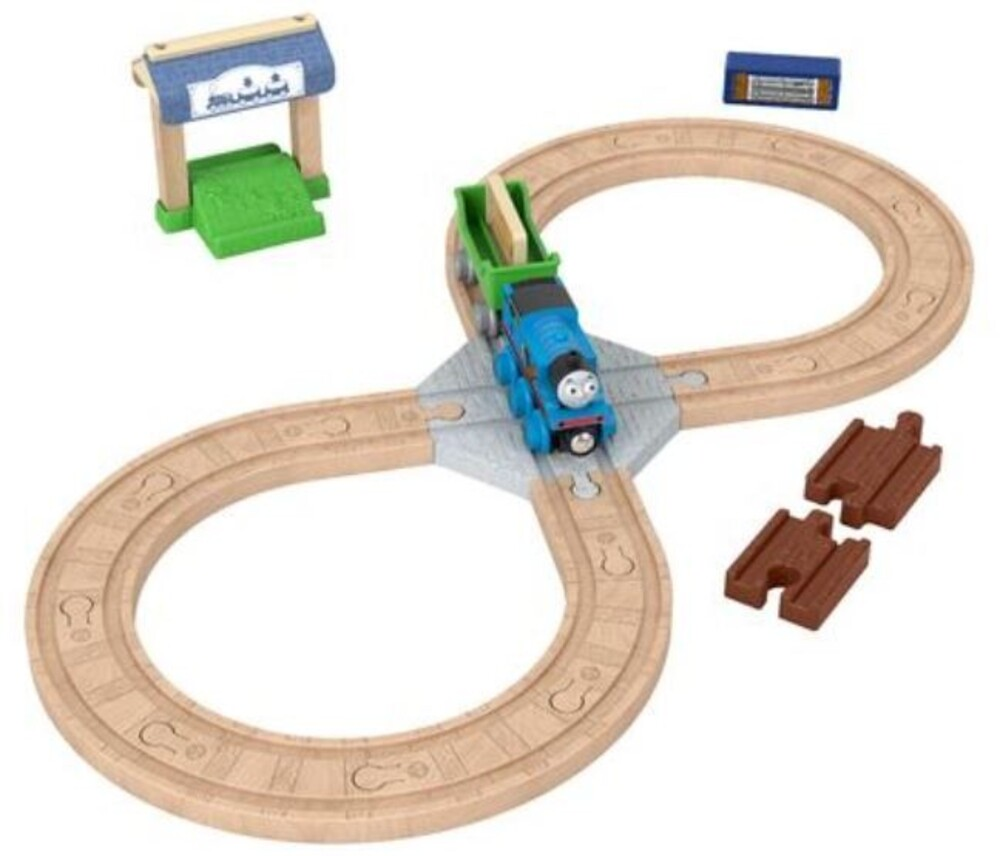 Thomas and Friends Wooden Railway - Thomas And Friends Wood Figure 8 Track Set (Wood)