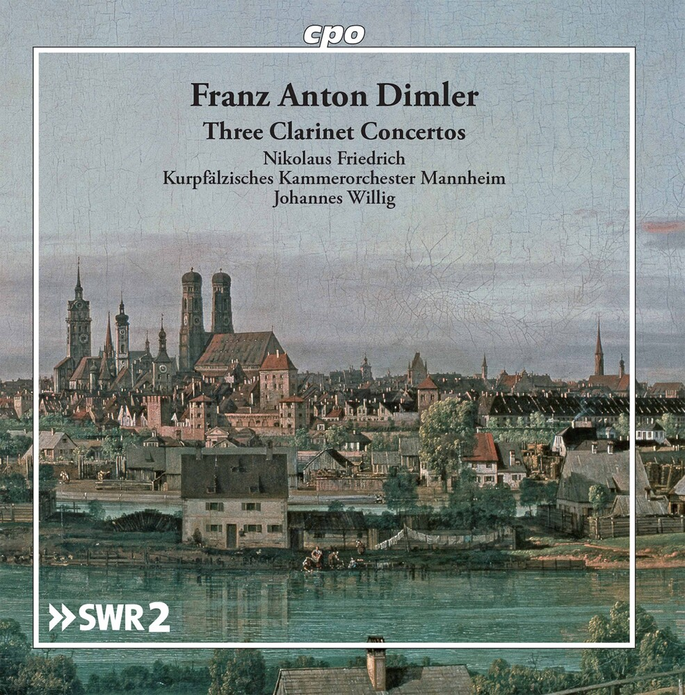 Dimler / Friedrich / Willig - Clarinet Concertos