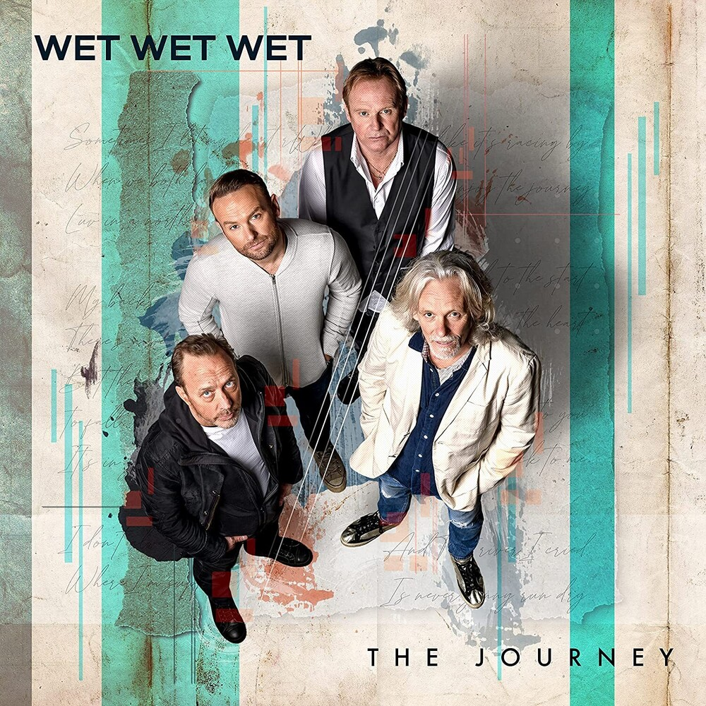 Wet Wet Wet - Journey [Colored Vinyl] [Limited Edition] (Red) (Uk)
