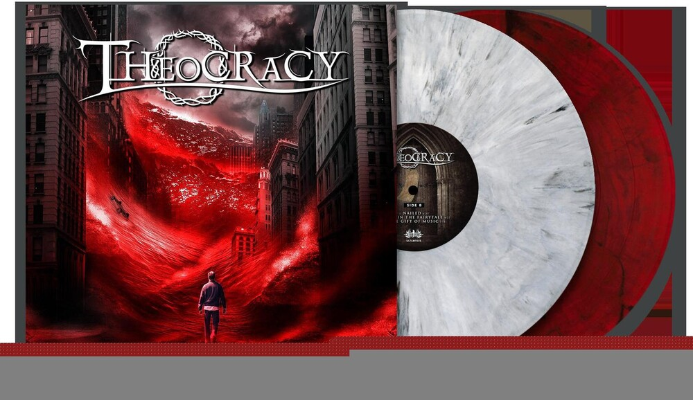 Theocracy - As the World Bleeds (White/Black Marble + Blood Red Vinyl)